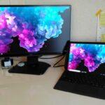 Surface Pro6 デュアルモニター