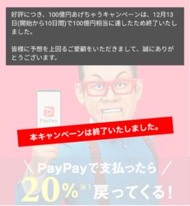 PayPayの使えるお店やキャンペーンについて【45,000円のキャッシュバックに当選したよ】